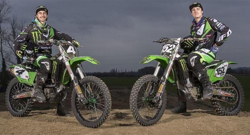 Monster Engergy Kawasaki MX2 Racing Team