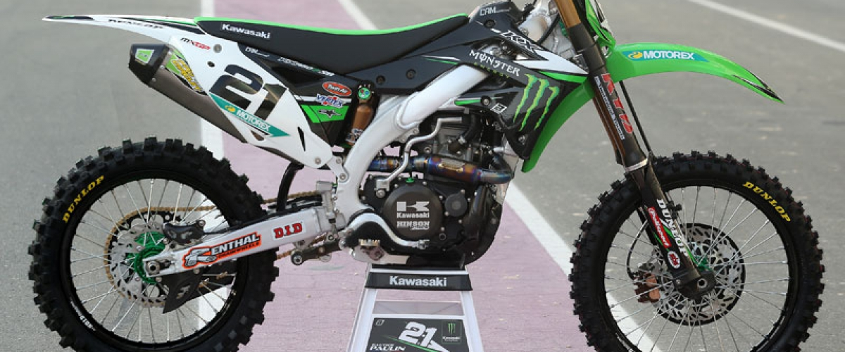 The start of the MXGP season 2014 with HSL !