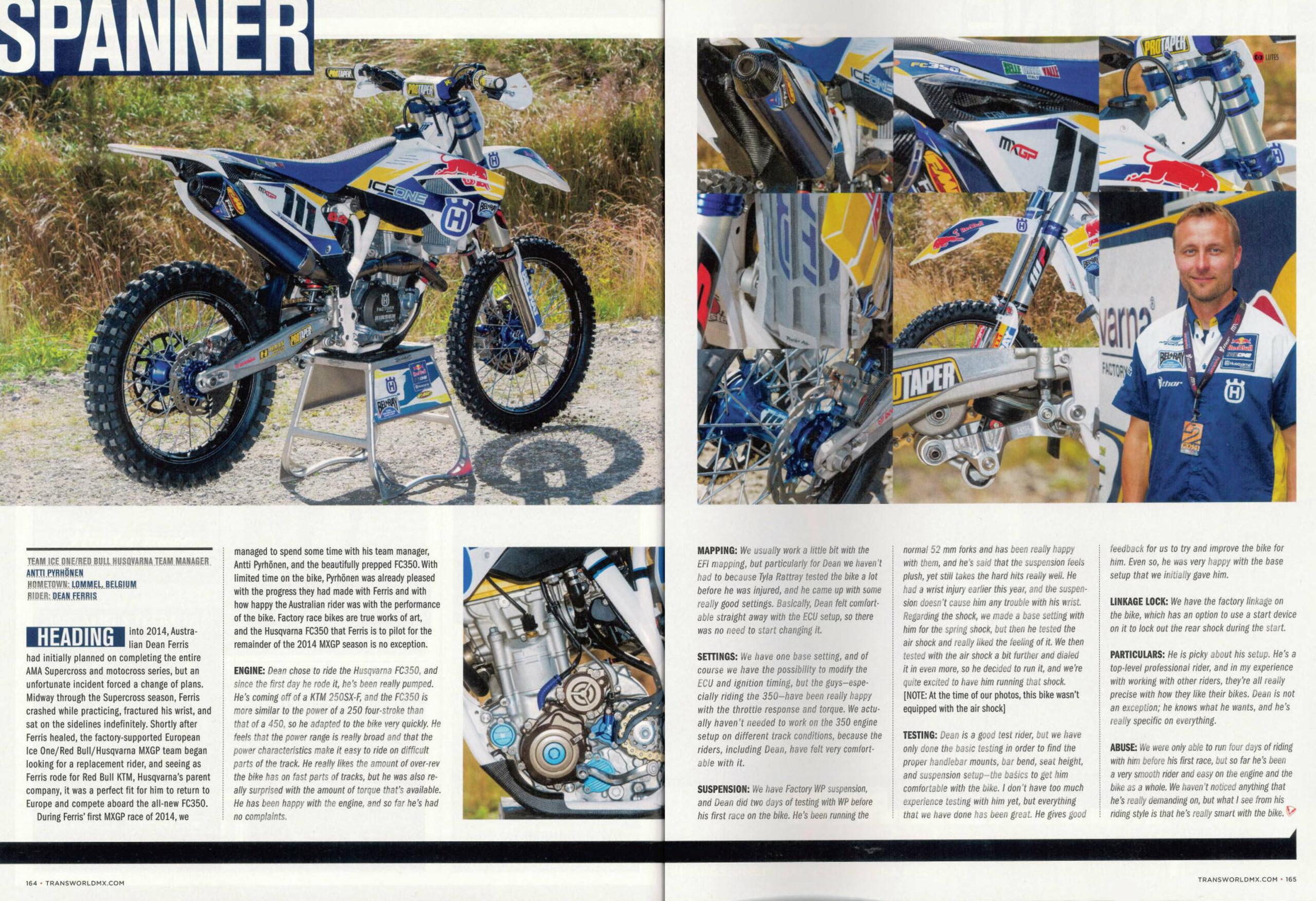 HSL in Transworld MX magazine !