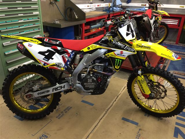 Ricky Carmichael's new bike !