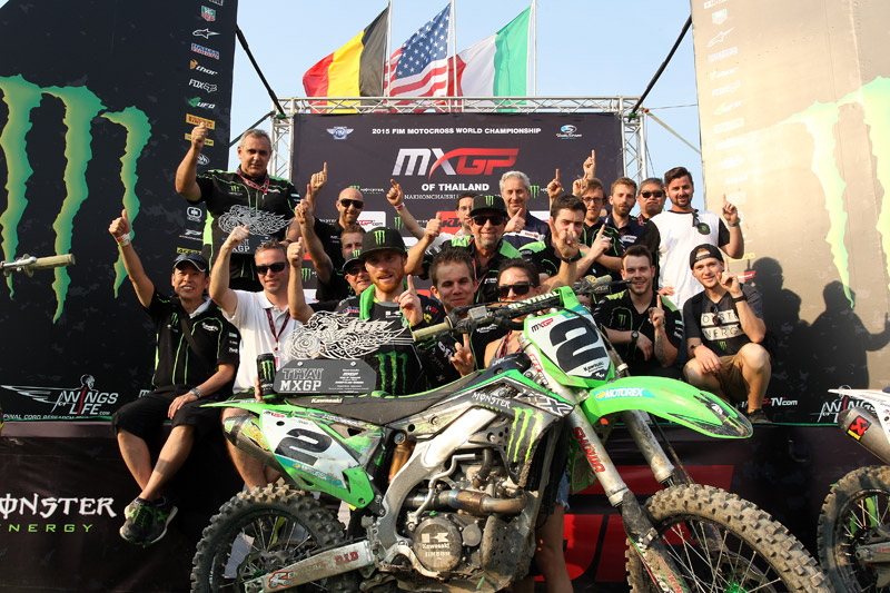 HSL in the MXGP of Thailand !